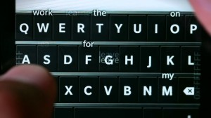 blackberry 10 keyboard