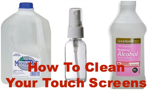 How To Clean Touch Screens