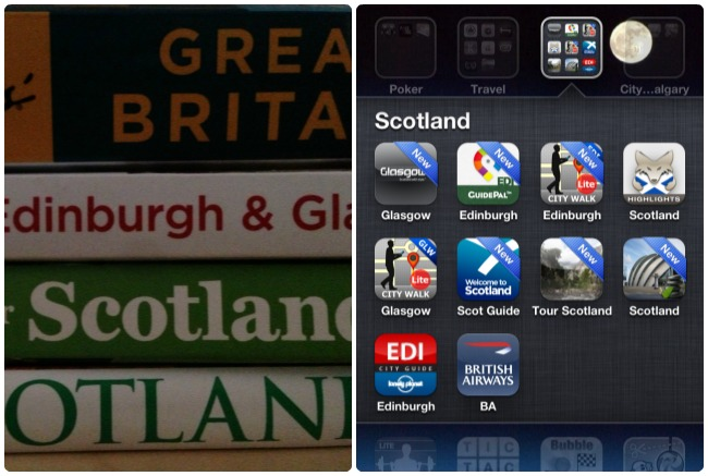 best apps and books for scotland