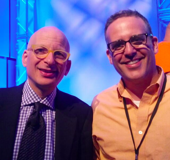 Seth Godin and Buzz Bishop