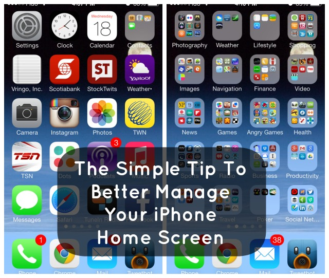 Easy To Way To Better Manage Your iPhone Home Screen Icons