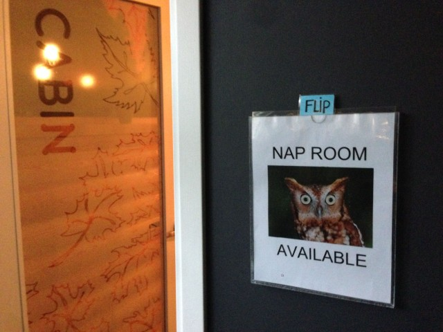 Nap Room at Hootsuite