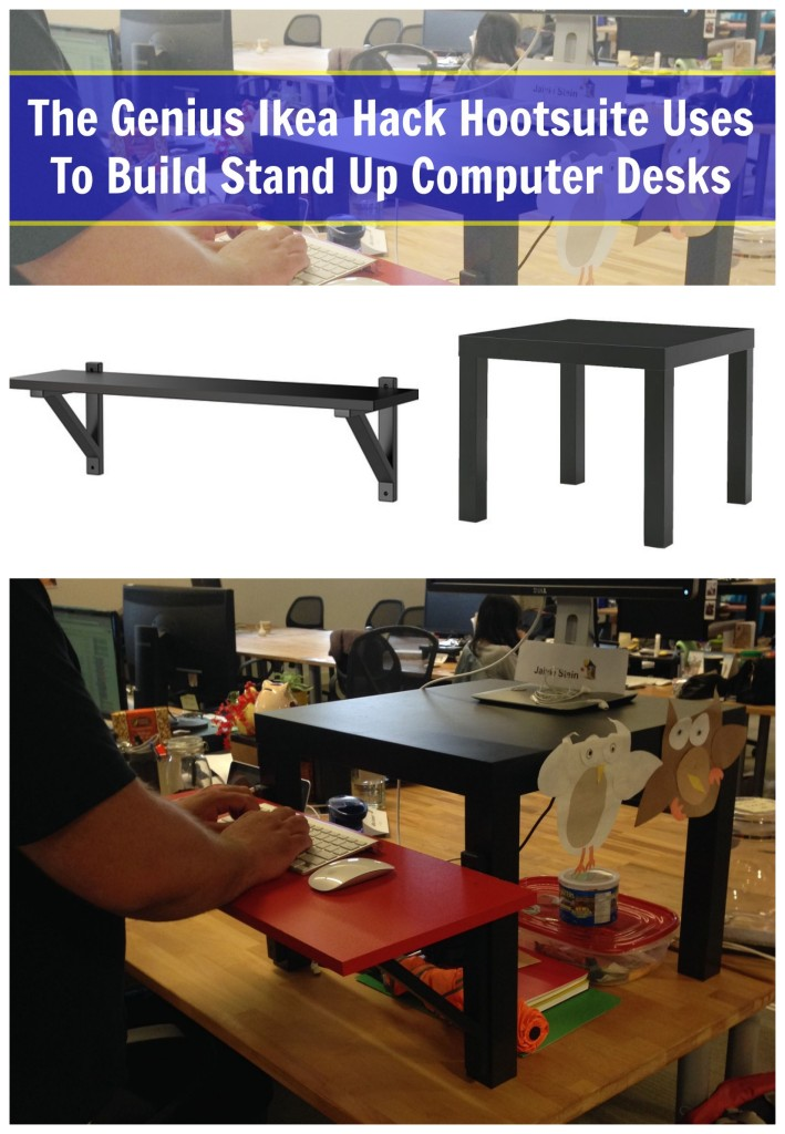 Ikea Hack To Build Computer Desks