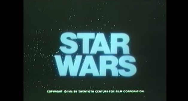 Official Star Wars Trailer