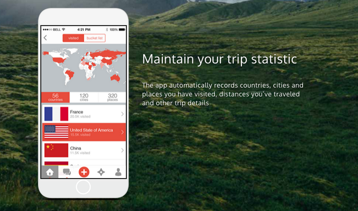 ShutterBee Travel App