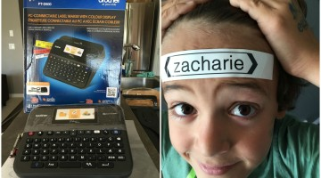 Zacharie And The Label Maker