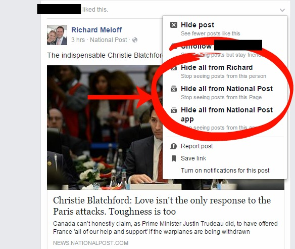 How To Hide Political Partisanship From Your Facebook Feed