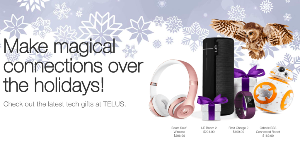 Christmas Gifts From TELUS